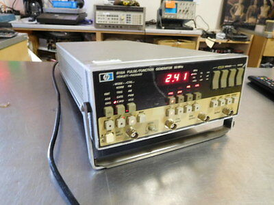 Hewlett Packard 8116A Pulse Function Generator, Tested Good, 50Mhz