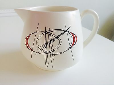 "Vintage Carlton Ware 'Orbit' 3.25"" Milk/Custard Jug - Atomic design c1966 - rare"
