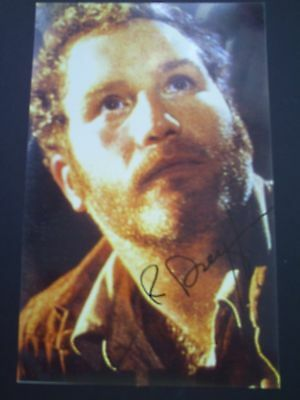 Richard Dreyfuss Genuine Signed 7X5 Photograph