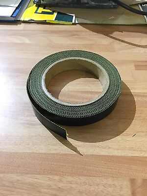 20mm x 5M x 10th Self Adhesive PTFE Glass Woven Tape Teflon NOS Sale Low Prices