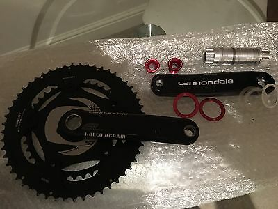 SRM Wireless Cannondale Power meter SL - 170mm crank arms
