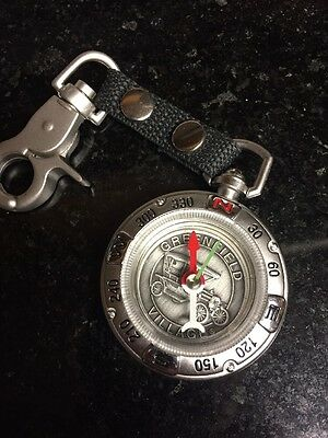 Clip on Fob Metal Compass Greenfield Village Henry Ford Dearborn MI