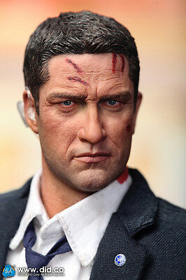 did action figure 1/6 12'' us mark special agent  dragon cyber hot toys