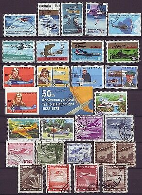 THEMATIC STAMPS - AIRPLANES Selection VF USED (E217)