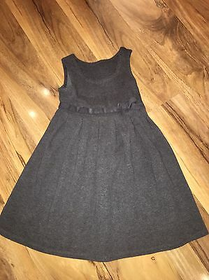 Girls M&S Scool Pinafore Age 3-4