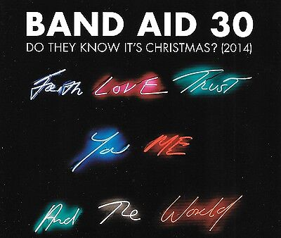 BAND AID 30 - Do they know it's Christmas ? (2014) - 4 Tracks