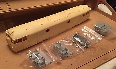 O Gauge 7mm Scale SKYTREX class 31 Body And Parts