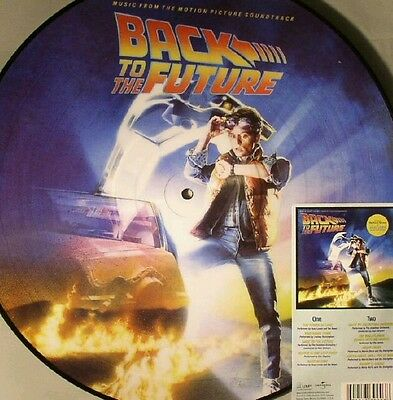 back to the future picture disc ost  vinyl