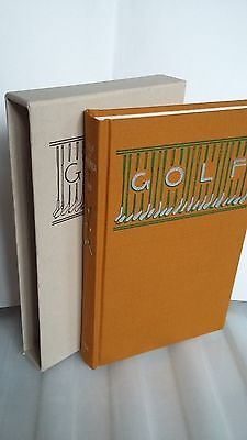 OLD GOLF BOOK IN BOX Golf In America by James P Lee 1986