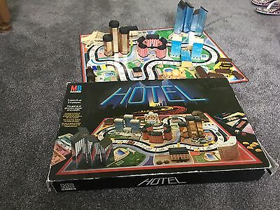 Hotel MB Games Board Game 1986 Incomplete Spares