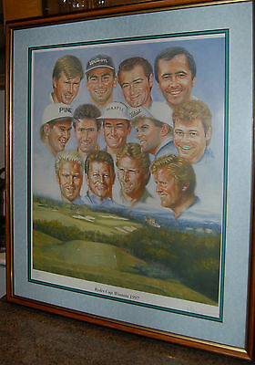"""""""ryder cup limited edition print """""""