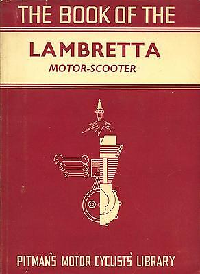Pitmans Book of the Lambretta motor scooter. on CD!