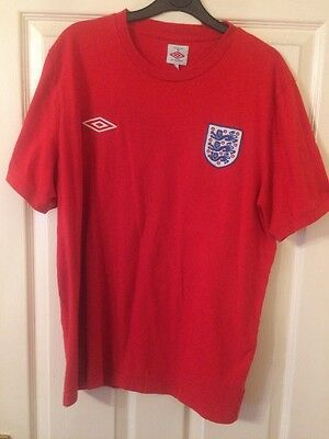 Umbro England Red Football.shirt  XL