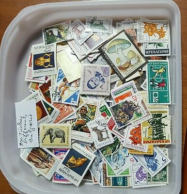 Timbres  De Bulgarie  200 Timbres Tous Differents
