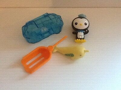 Octonauts Peso And The Narwahl - Action Figure Rescue Kit