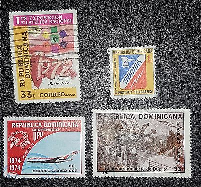 DOMINICANA Mixed Selected Stamps(No932)