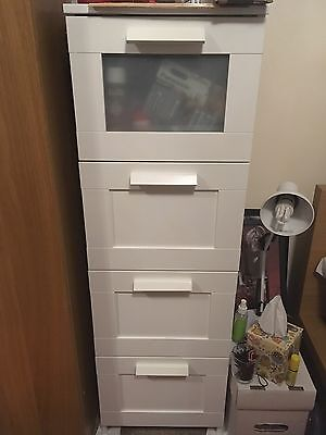 Chest Of 4 Drawers BRIMNES Ikea