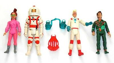 The Real Ghostbusters (4) Piece Action Figure Lot 1987 Kenner