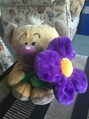 Cute Pimboli Bear With Big Flower