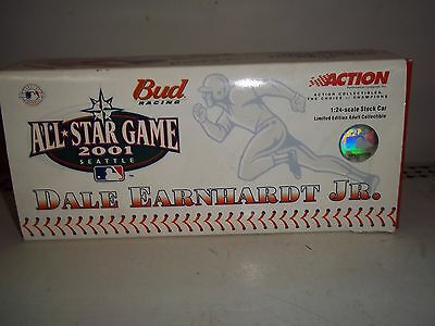 2001 Action 1/24 Dale Earnhardt Jr Seattle All Star Game Diecast Car