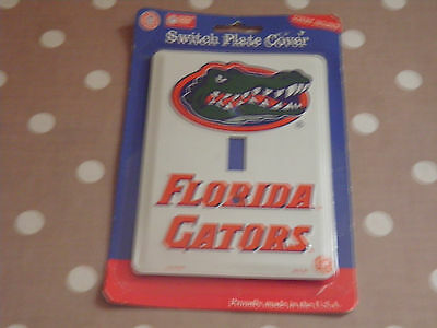 Florida Gators American Football Switch Plate Cover.