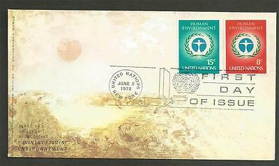 UNITED NATIONS -1972 U.N. Environmental Conservation Conference,   -  F.D.COVER.