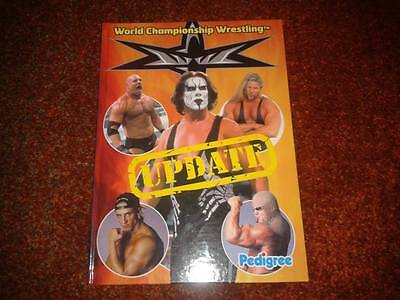 WCW Official Wrestling Annual UPDATE 2000/01 - Hulk Hogan, Sting, Goldberg etc