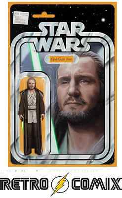 Marvel Star Wars #26 Qui-Gon Jinn Exclusive Action Figure Variant