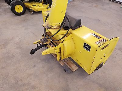 John Deere 47 snowblower with quick hitch and drive shaft