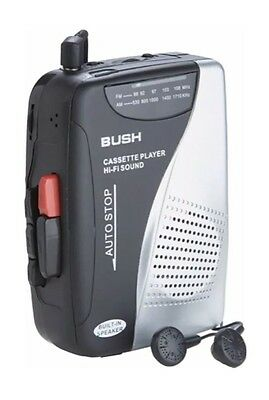 Bush Portable Cassette Player/Recorder with Radio - KW-938B-SP