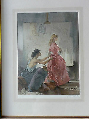 Sir William Russell Flint Framed Print Pencil Signed 'Two Models' Limited Ed.