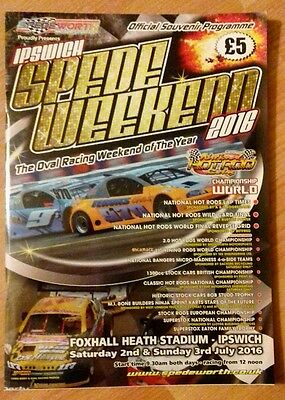 National hot rod world final programme 2016