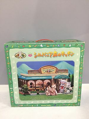 Rare Japan Sylvanian Families (Calico Critters )Sylvanian Kitchen.Complete