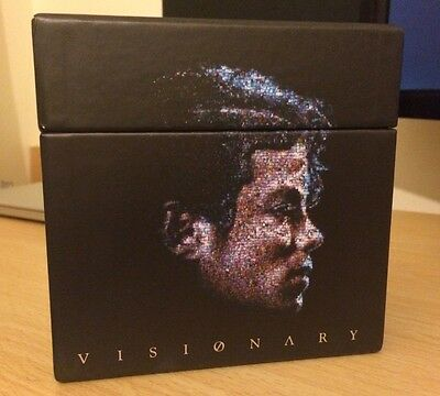 Michael Jackson Video Singles Visionary 20 Dual CD/DVD Limited Collectors Set