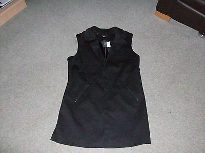 Primark Atmosphere Black Waistcoat Size 14 New With Tags On