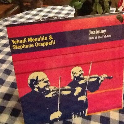 yehudi Menuin. And Stephan Grappelli .. Jealousy .. Vinyl Record. JAZZ