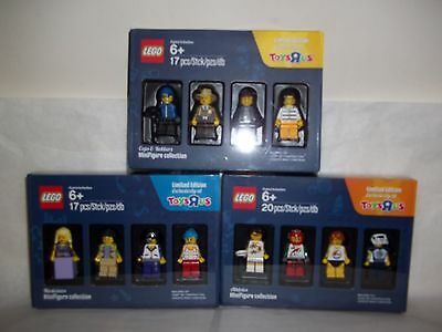 Lego Limited Edition Minifigures Collection.cops & Robbers,athletes & Musicians.