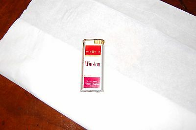 Winston Filter Cigarettes Thin Lighter King Electric GB 1982 - 1984