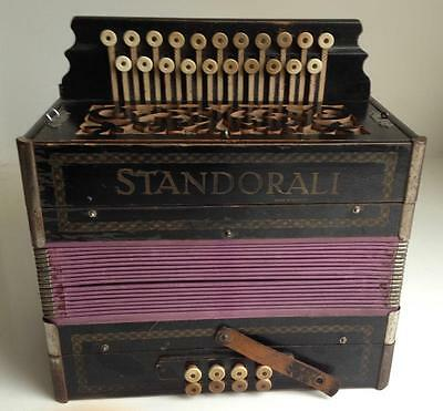 antique ACCORDION - STANDORALI made in Germany