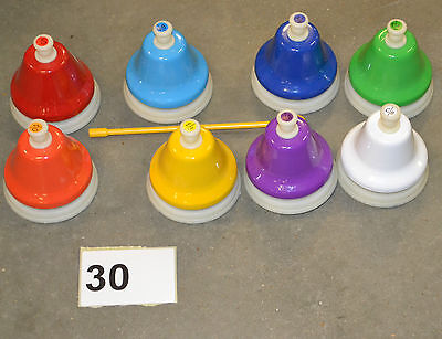 30) Children's Rainbow Beautiful Music Tick Bell Musical Instrument Toy