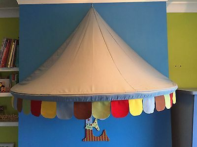 Ikea Mysig Circus Blue Canopy Children's Play