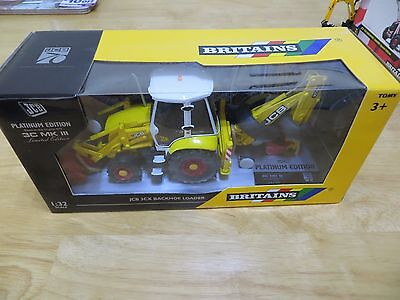 Britains Jcb 3Cx Backhoe Loader 70Th Edition Model Very Very Rare Only 100 Made