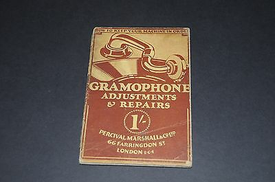 Gramophone Adjustments & Repairs by L.B.S.C. - Marshall - 1929 - Vintage Book