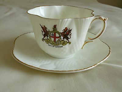 Crested Arcadian City Of London Cup And Saucer - Selfridges London