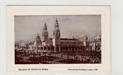 London 1908 Exhibition Franco British, Palace of Womans Work