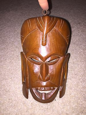African Hand Carved Wooden Mask