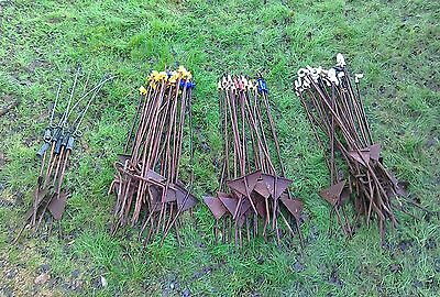 Quantity Of Metal Electric Fencing Stakes