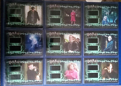 Harry Potter Order of the Phoenix Update Cinema Film Cel Cards Set of 9 Cards