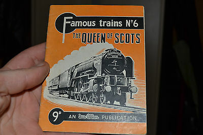 famous trains booklet no6 the queen of scots