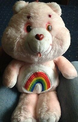 "Care Bear Cheer Bear Original 80's Vintage ""Kenner"""